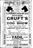 Выставка собак Крафтс